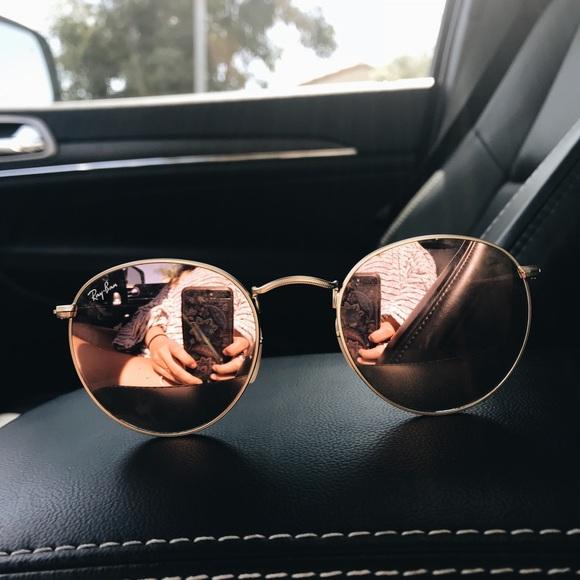 2902c96c35e11 Ray ban accessories ray ban icons retro sunglasses pinkbrown jpg 580x580 Icon  53mm retro